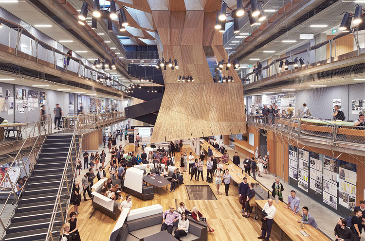 Escola de Design da Universidade de Melbourne / John Wardle Architects  + NADAAA, © Peter Bennetts
