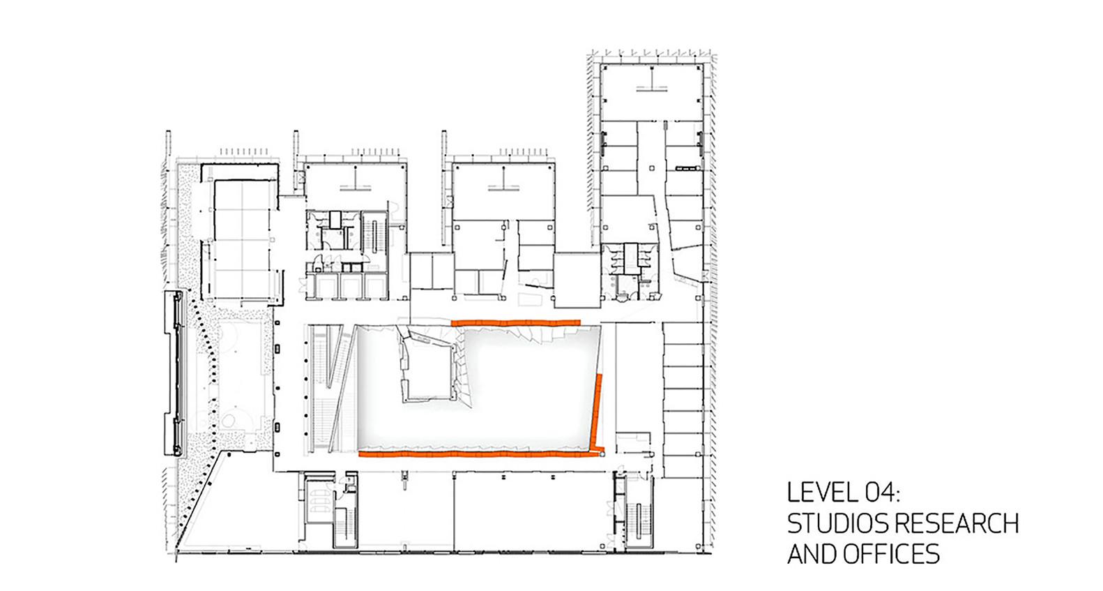 Melbourne school of design university of melbournefourth floor plan