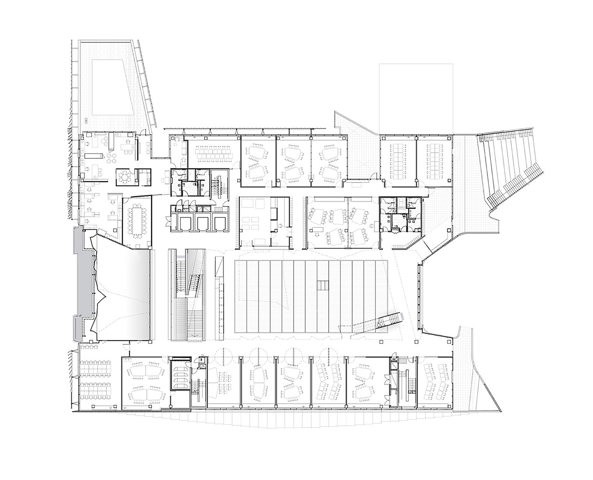 Floor Plan Of Church Gallery Of Melbourne School Of Design University Of