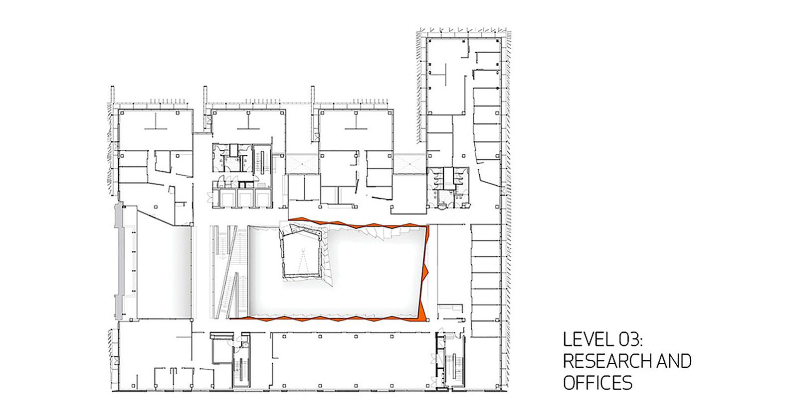 Melbourne school of design university of melbournethird floor plan