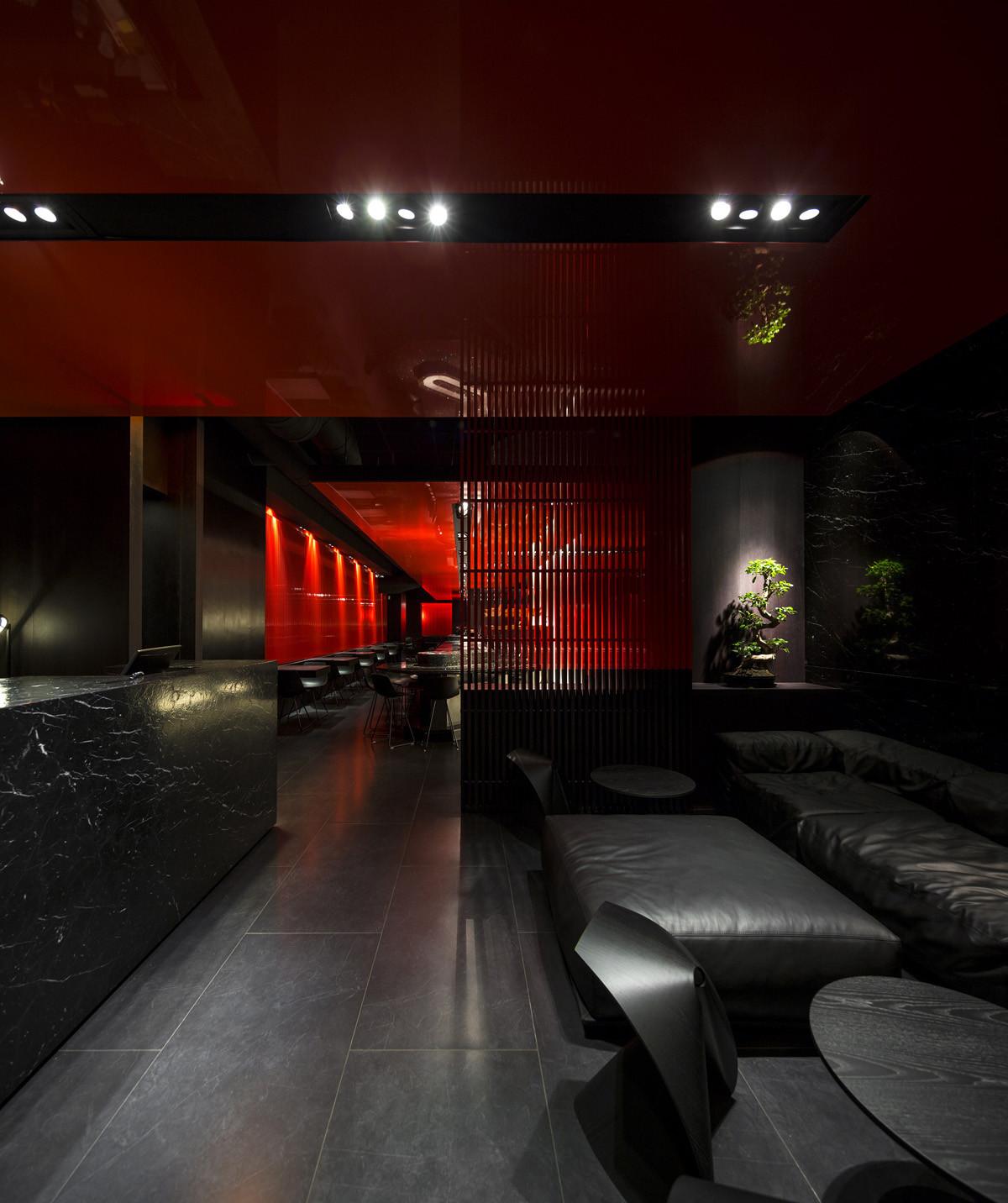Gallery Of Zen Sushi Restaurant Carlo Berarducci