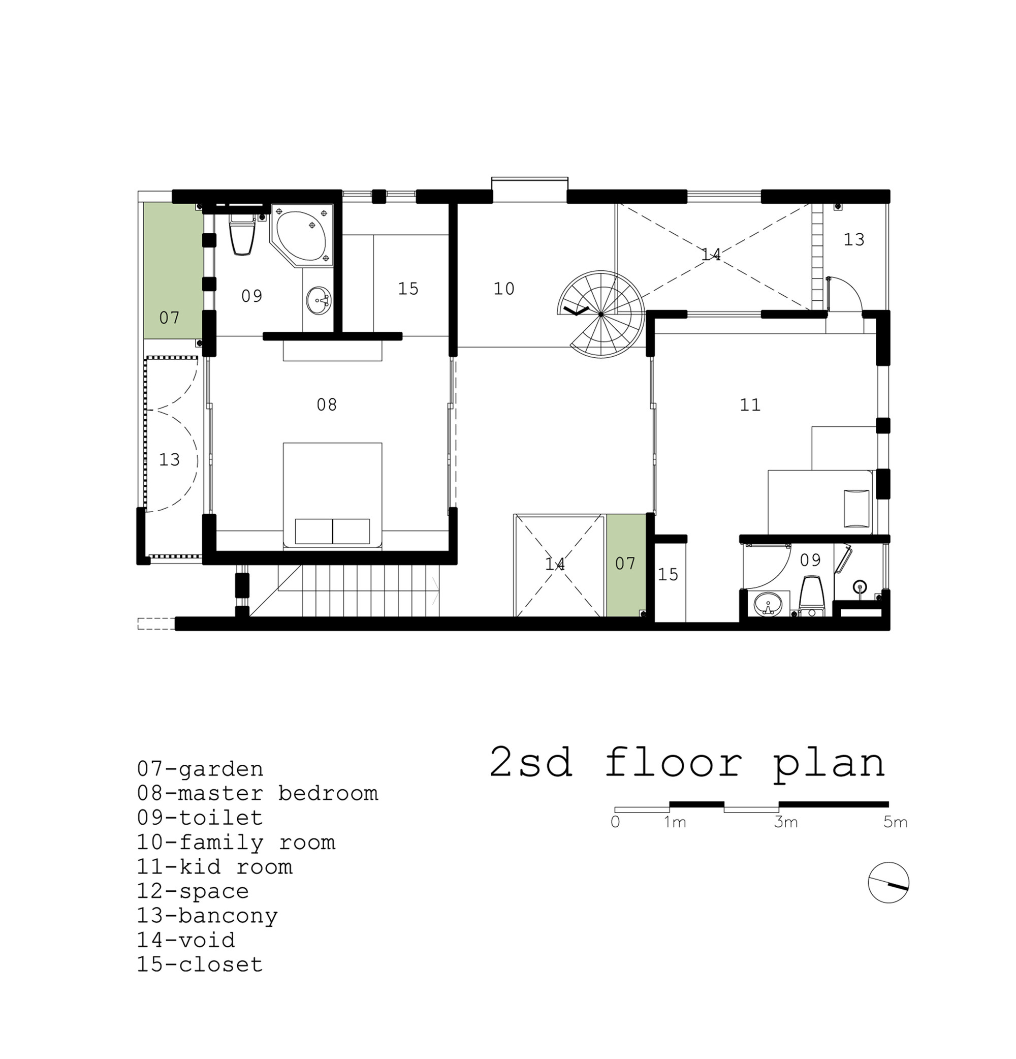 Gallery 2H House Truong An Architecture 23o5Studio 18
