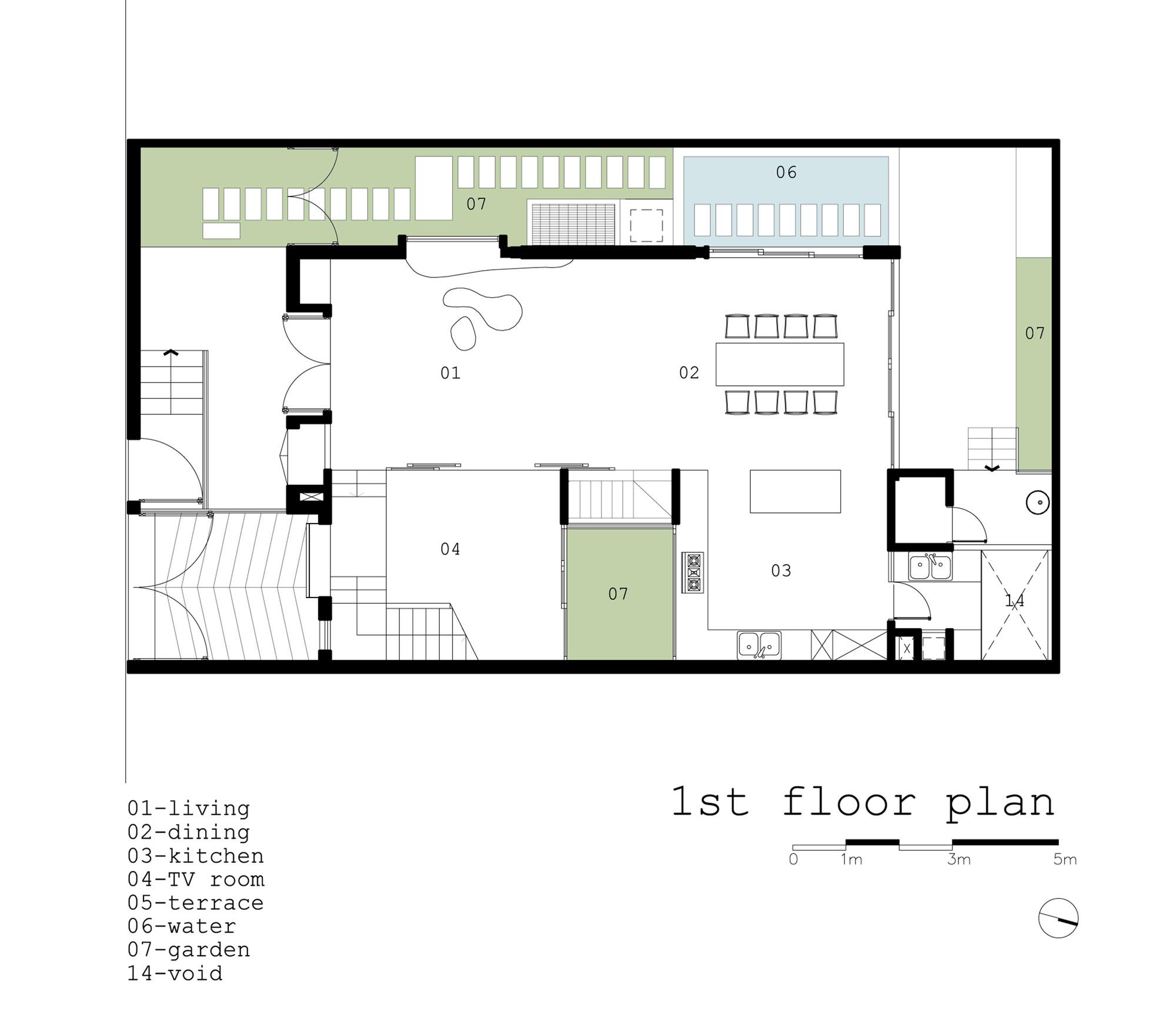 Galeria de Casa 2H / Truong An architecture + 23o5Studio - 17