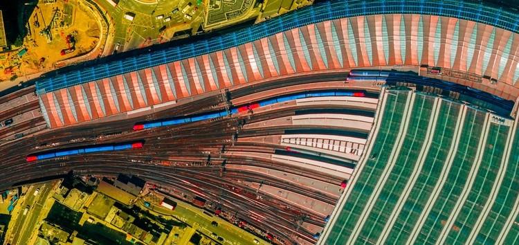 ULTRADISTANCIA: fotos de satélite que transformam o mundo em um mosaico de cores, Cortesia de Federico Winer @Google Earth e dados de satélite