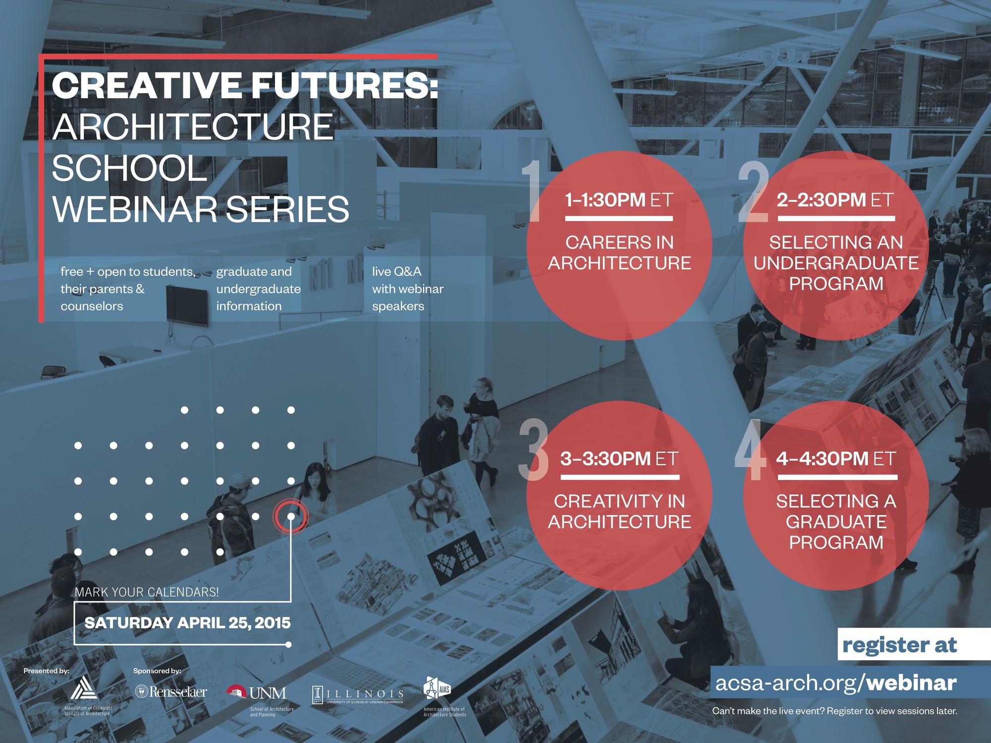 ACSA to Host Architecture School Webinar Series