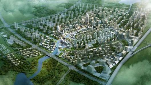 Imagen objetivo de Huashan, China. Imagen © AECOM