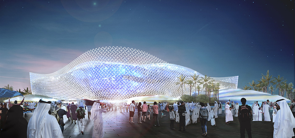 Qatar Unveils Fifth World Cup Venue: Al Rayyan Stadium by Pattern Architects, Courtesy of SC