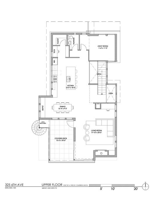 Amazing Upper Floor Plan