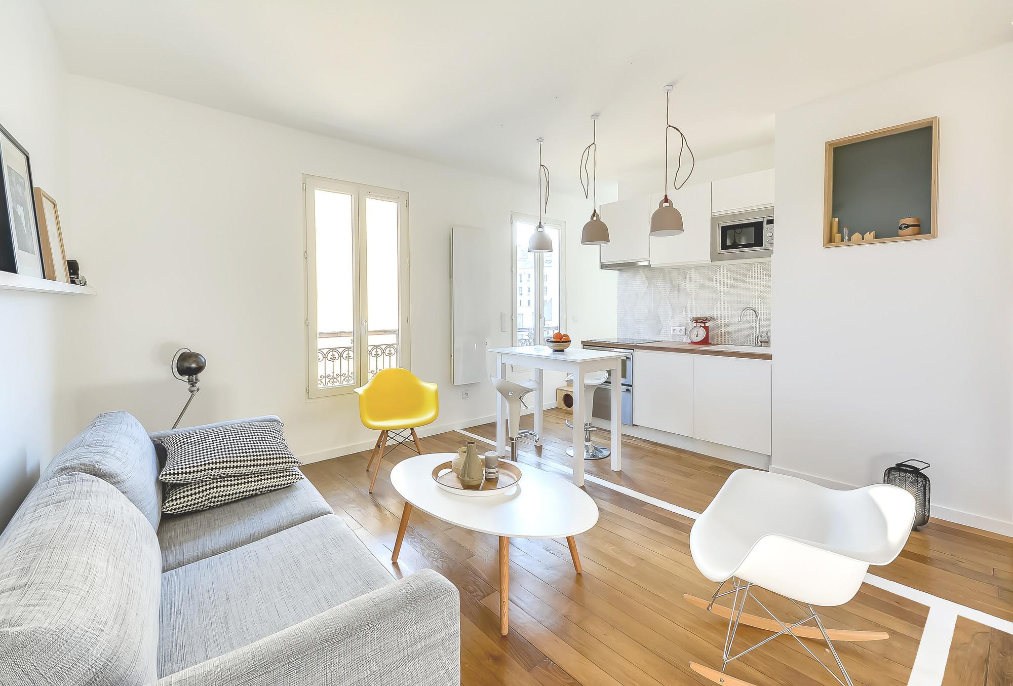 Architecte Interieur Paris 18 30m2 flat in paris / richard guilbault | archdaily