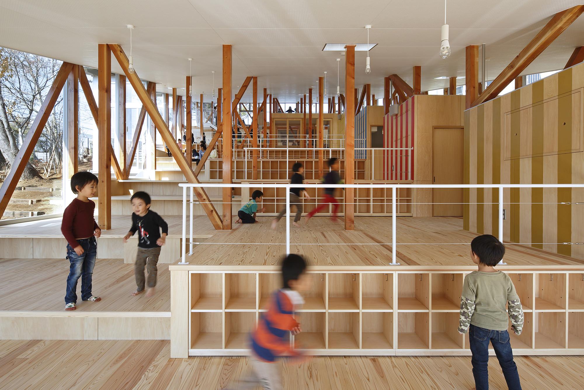 Hakusui Nursery School / Yamazaki Kentaro Design Workshop ...