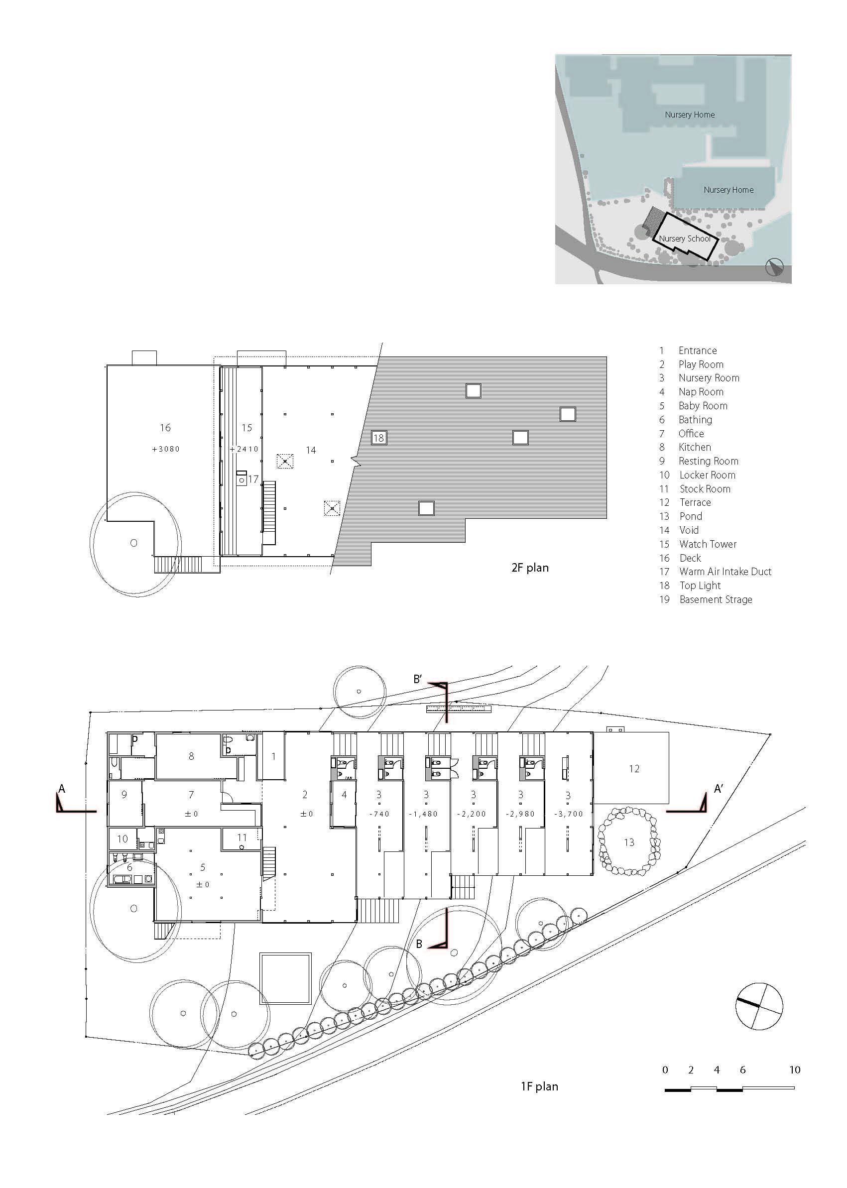 Hakusui Nursery School Yamazaki Kentaro Design Workshop ArchDaily - Naval architecture schools