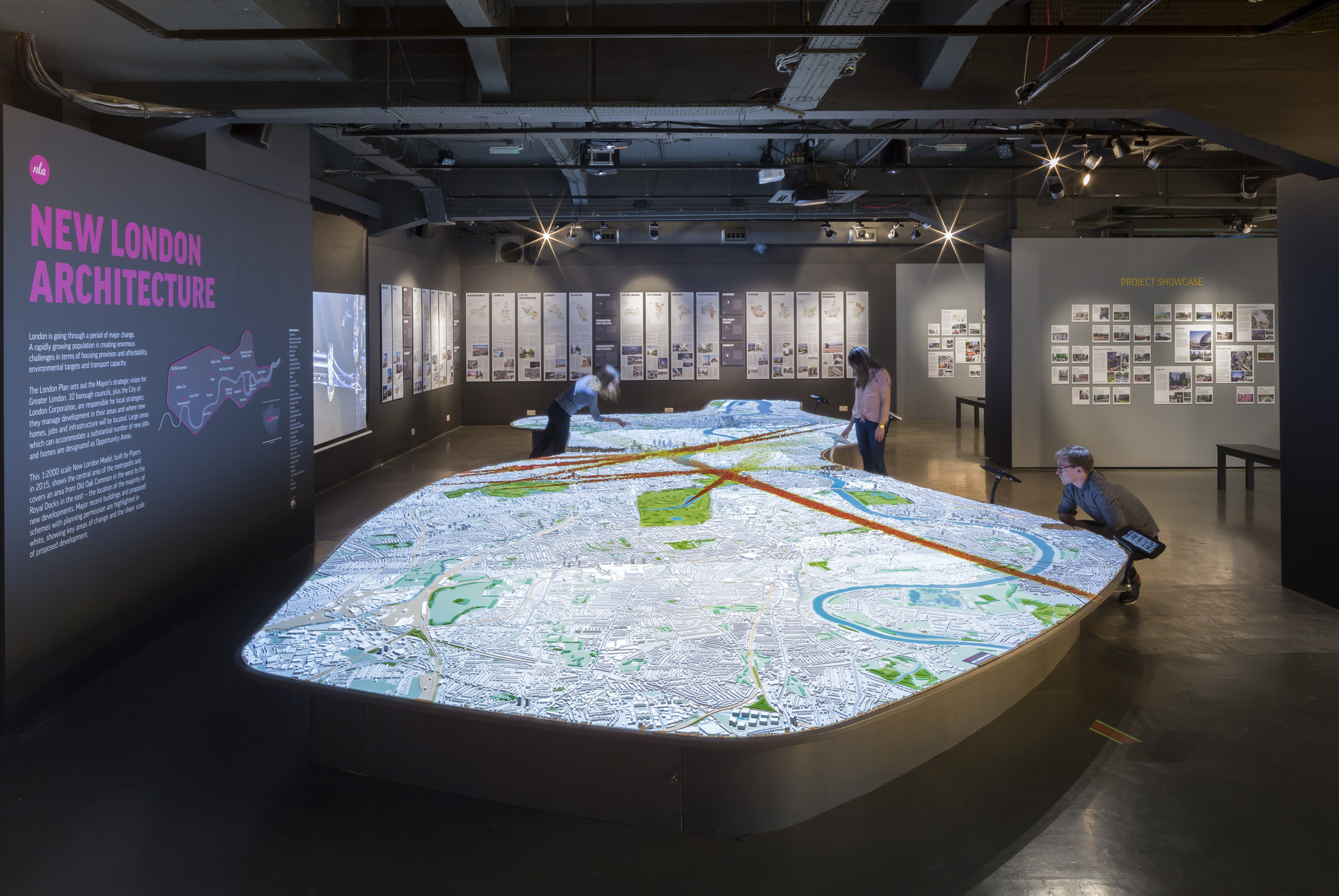New London Architecture Unveils Updated 1:2000 Scale Model Of The UK Capital, © Paul Raftery