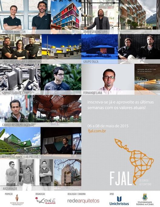 Última semana de inscrições para o  3º Fórum Jovens Arquitetos Latino-Americanos - FJAL, Cortesia de FJAL