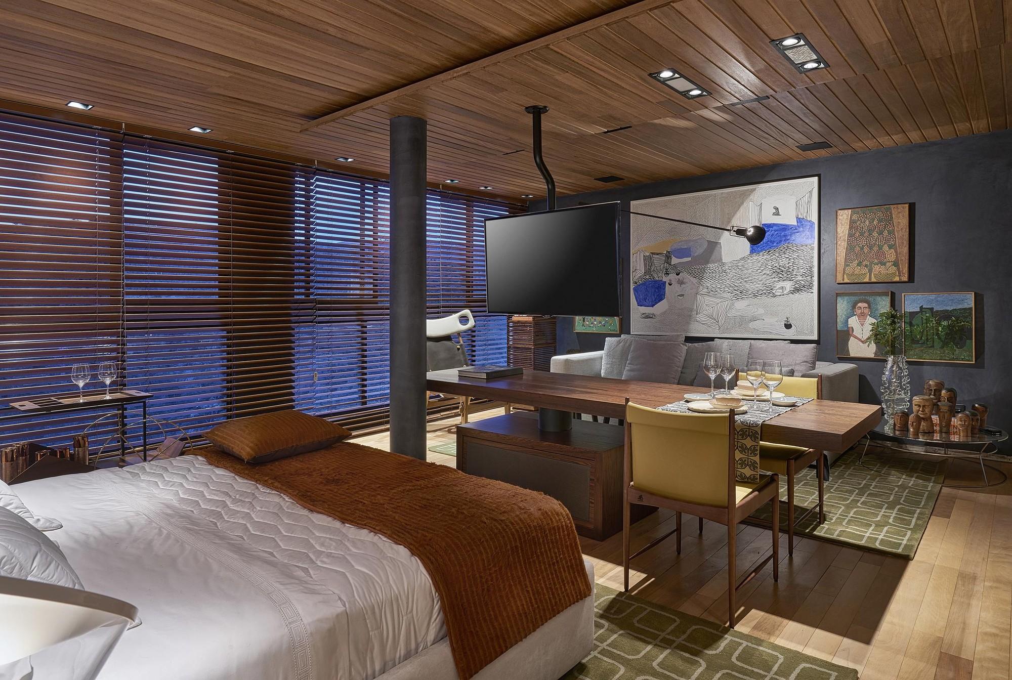 Galeria de apartamento bossa nova david guerra 18 for Wohnung interior