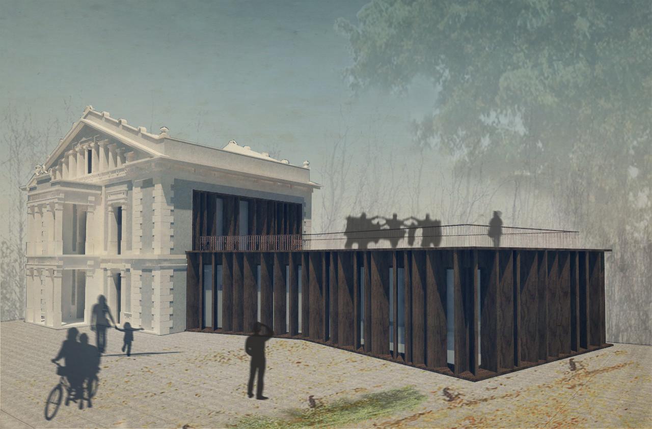 IF Arquitectos, primer lugar en concurso de rehabilitación y ampliación en La Sagrera / Barcelona, Cortesia de IF Arquitectos