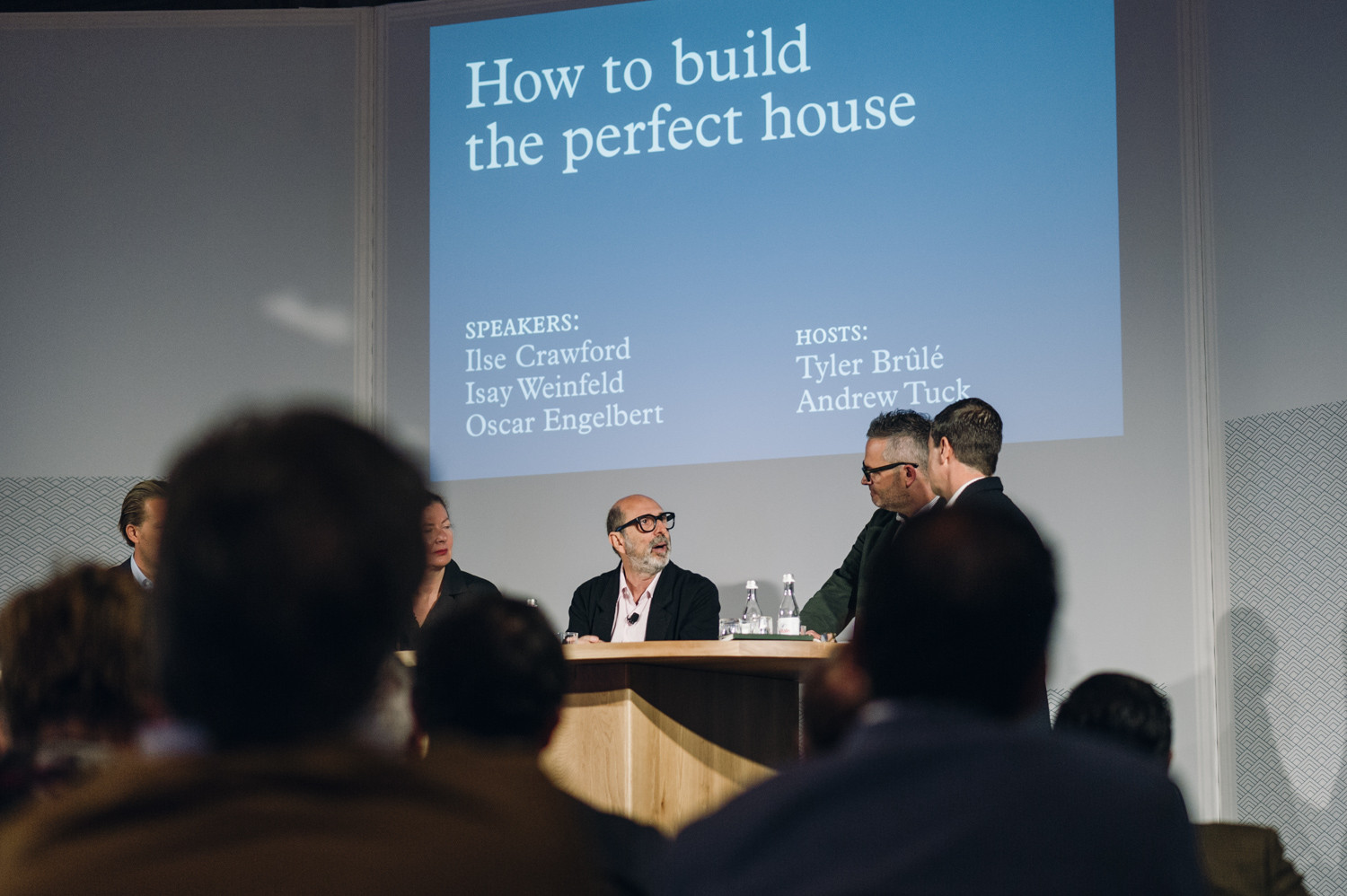 Monocle's Inaugural Conference In Lisbon Asks: What Is Quality Of Life?, Isay Weinfeld discussing 'How to build the perfect house'. Image © Rodrigo Cardoso