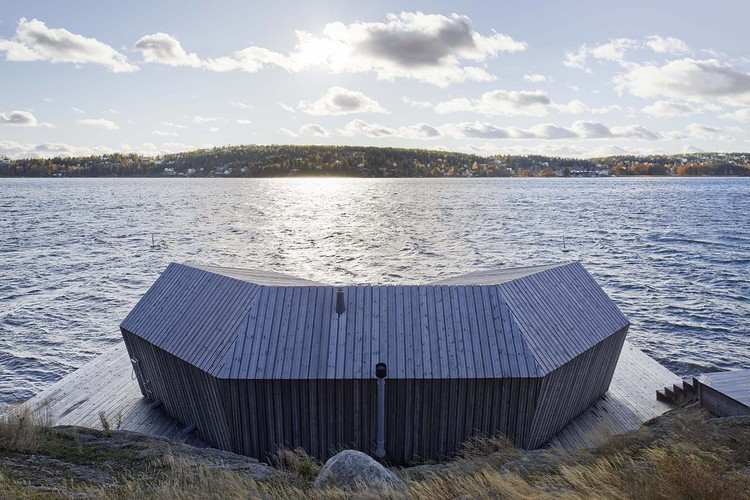 Sauna Saltsjöbaden / Murman Arkitekter, © Åke Erson Lindman