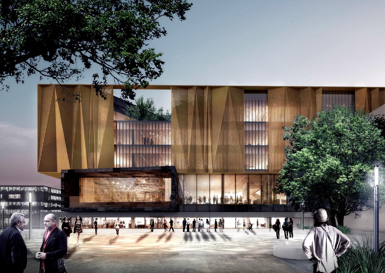 schmidt hammer lassen Reveal Chirstchurch's New Central Library, Courtesy of schmidt hammer lassen architects