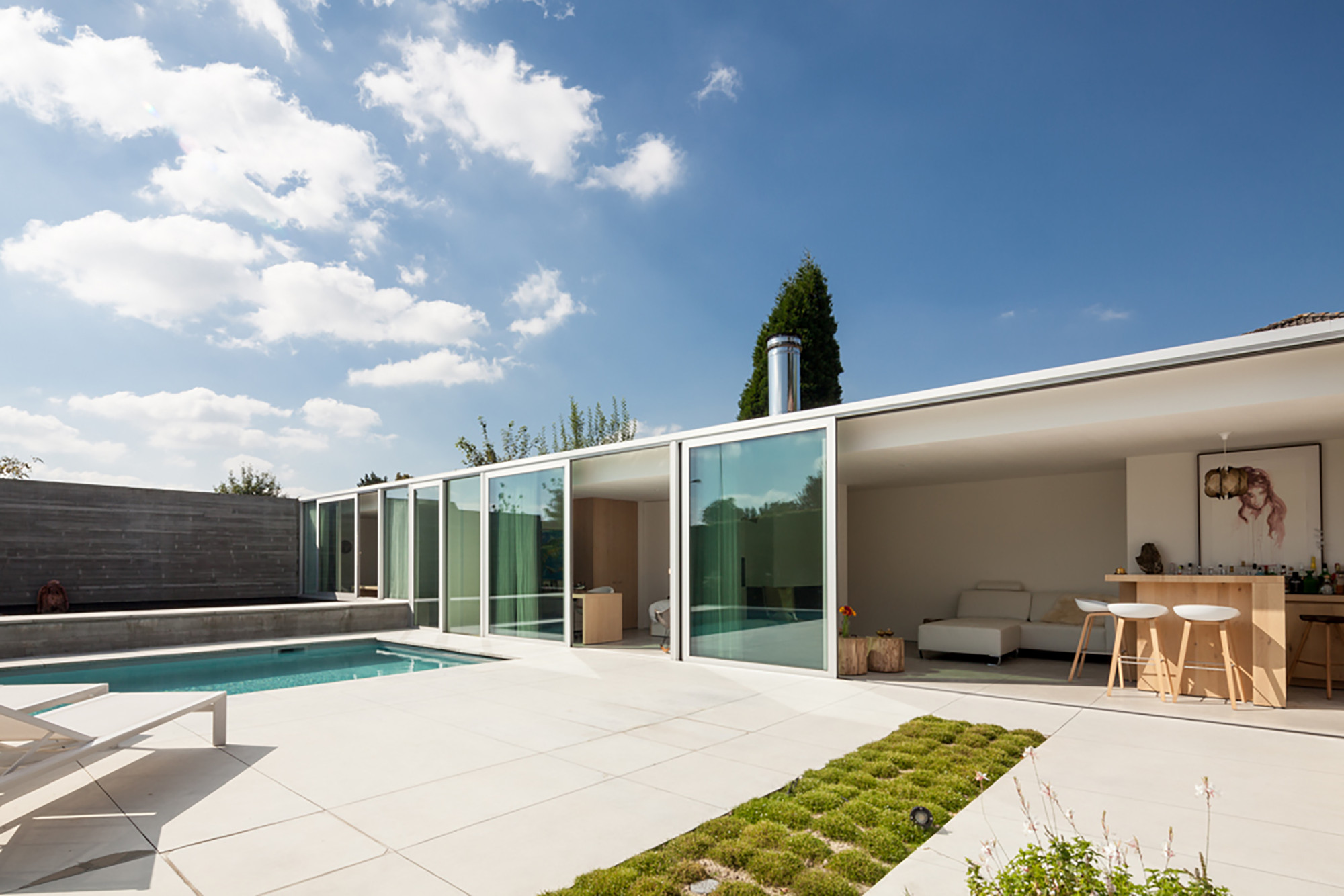 Poolhouse MRT Steven Vandenborre Architects C Tim Van De Velde