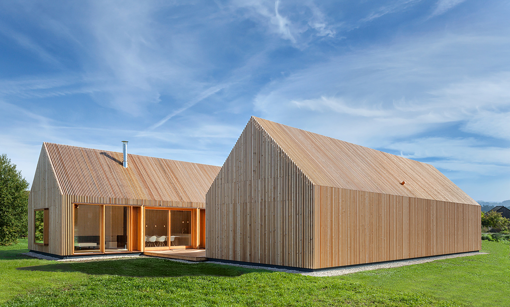 Timber house k hnlein architektur archdaily for Contemporary timber homes