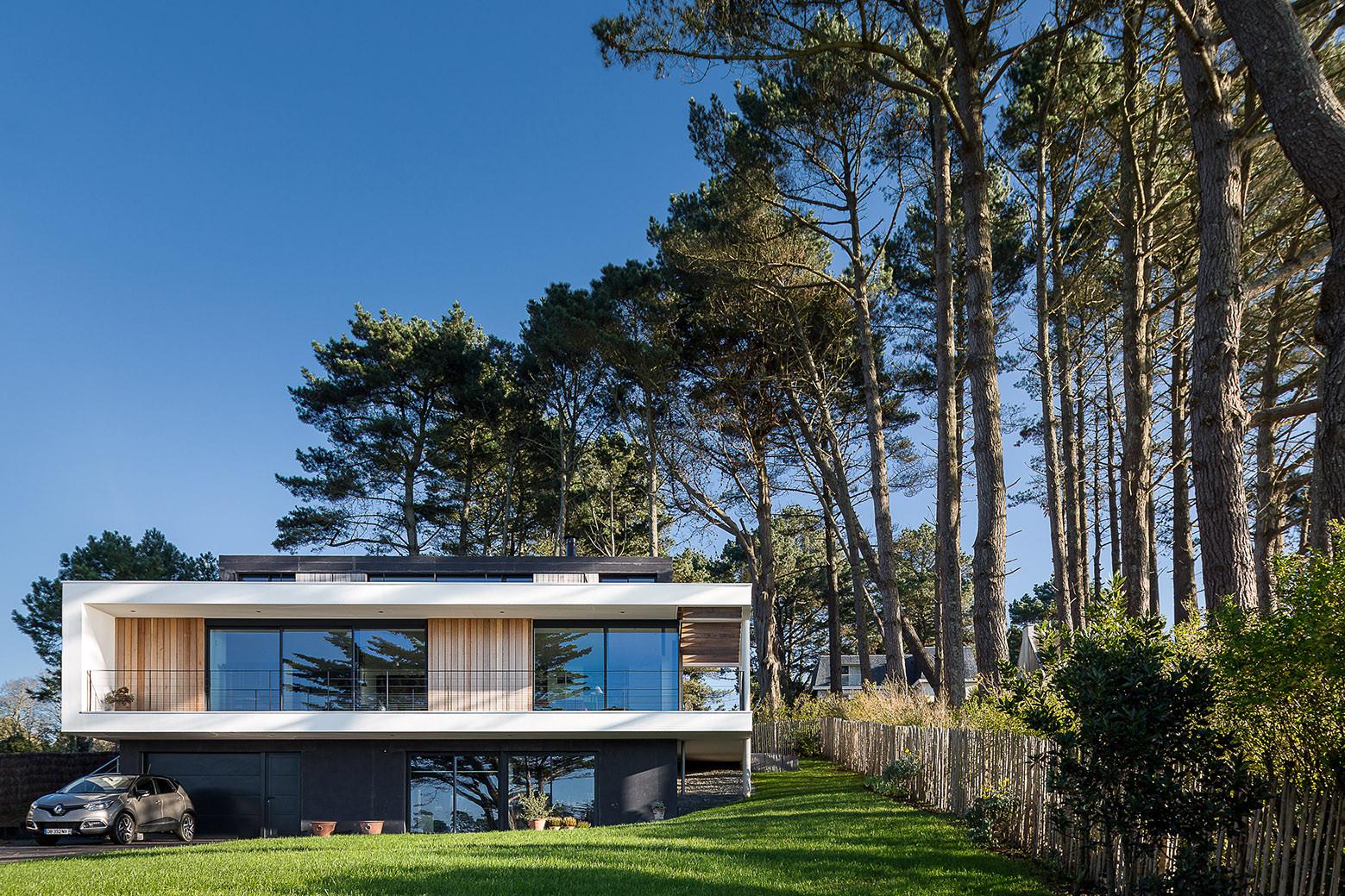 House in Crozon / Agence d'architecture Pierre-Yves Le Goaziou, © Pascal Léopold