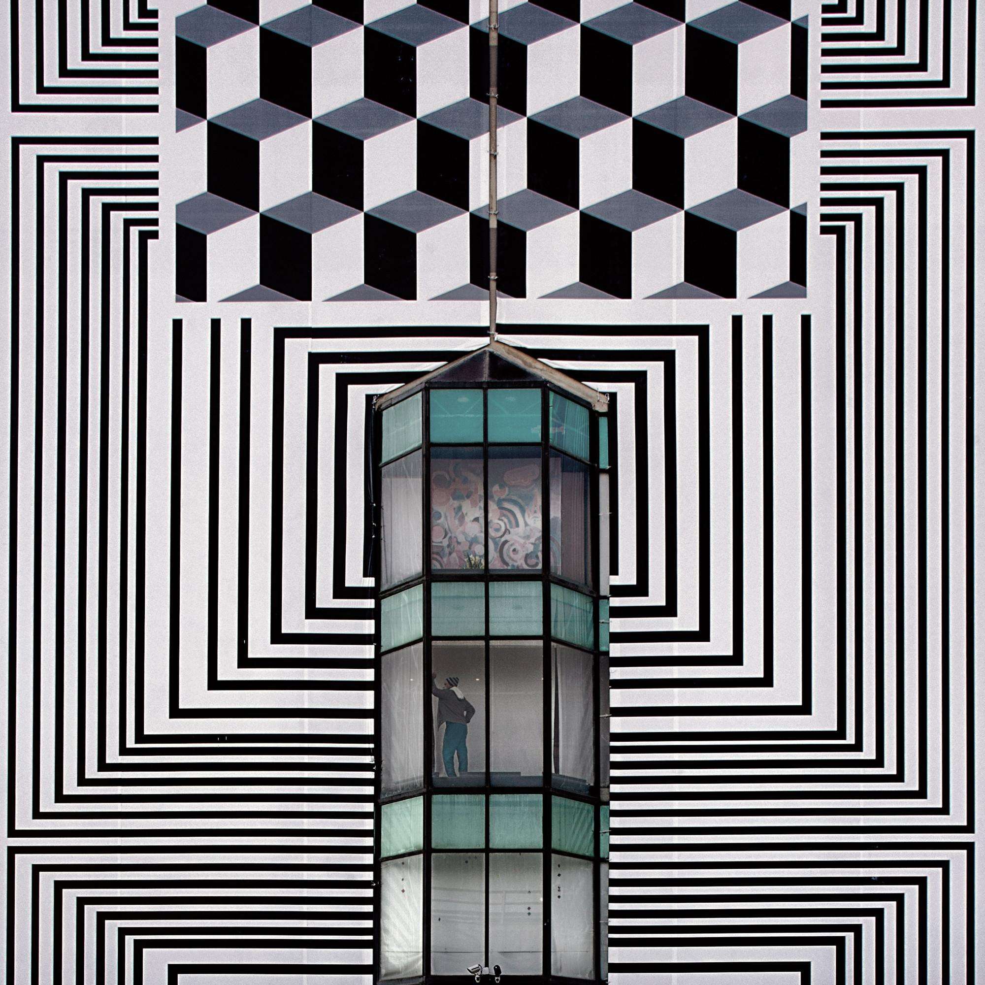 Realidades Abstratas, uma linha estreita entre passado e presente / Serge Najjar, Cortesia de Serge Najjar
