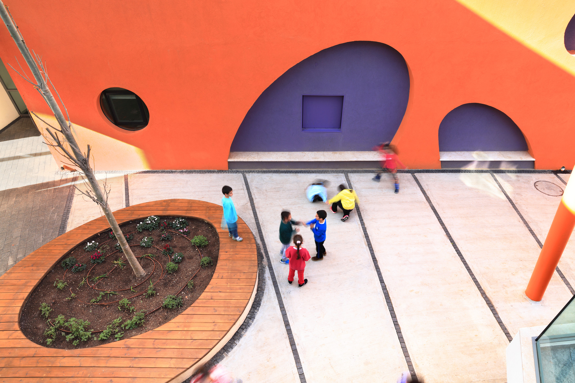 Rakafot School's Grounds / BO-Landscape Architects, © Amit Haas