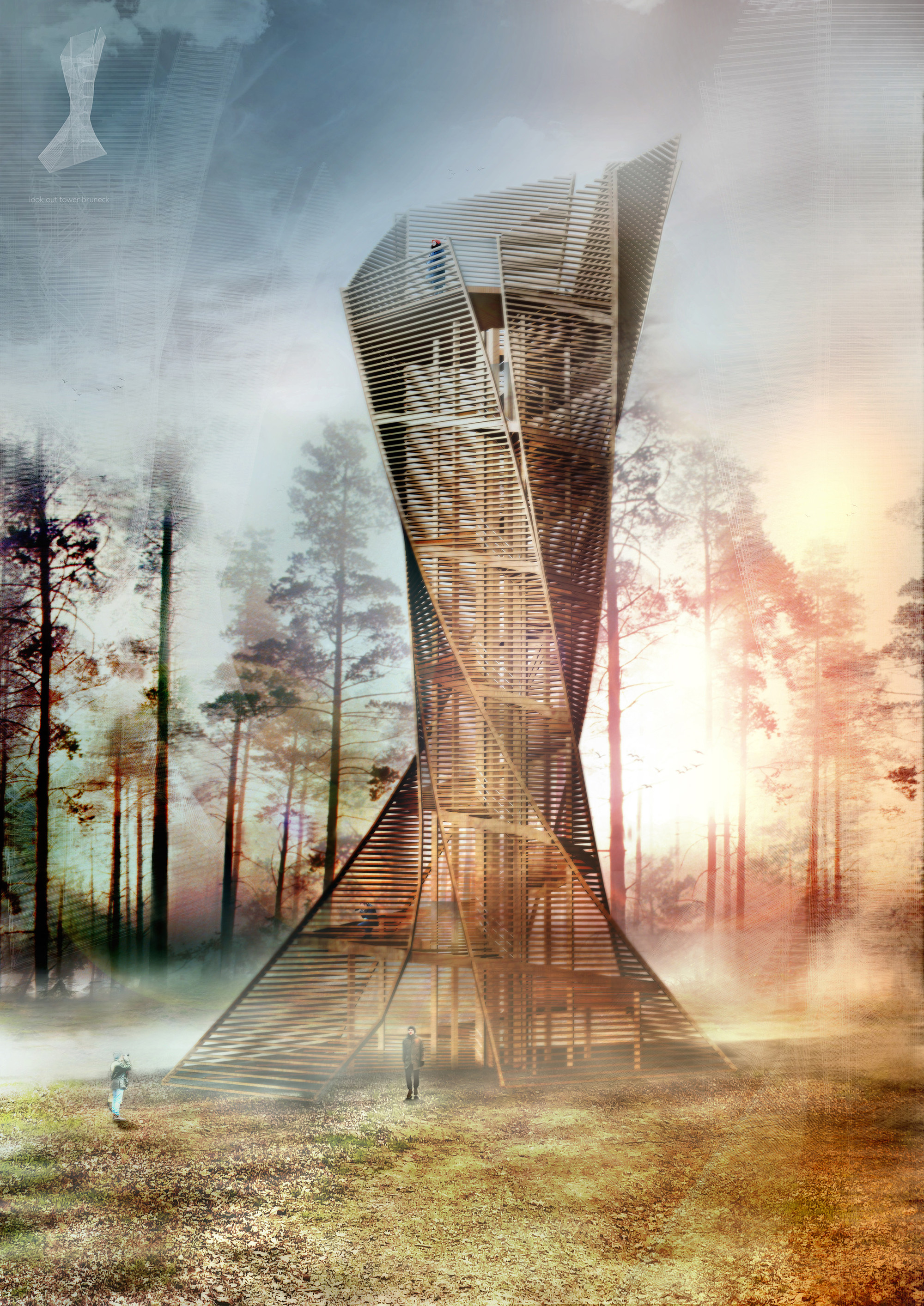 Italian Architects To Build Tree Inspired Lookout Tower In