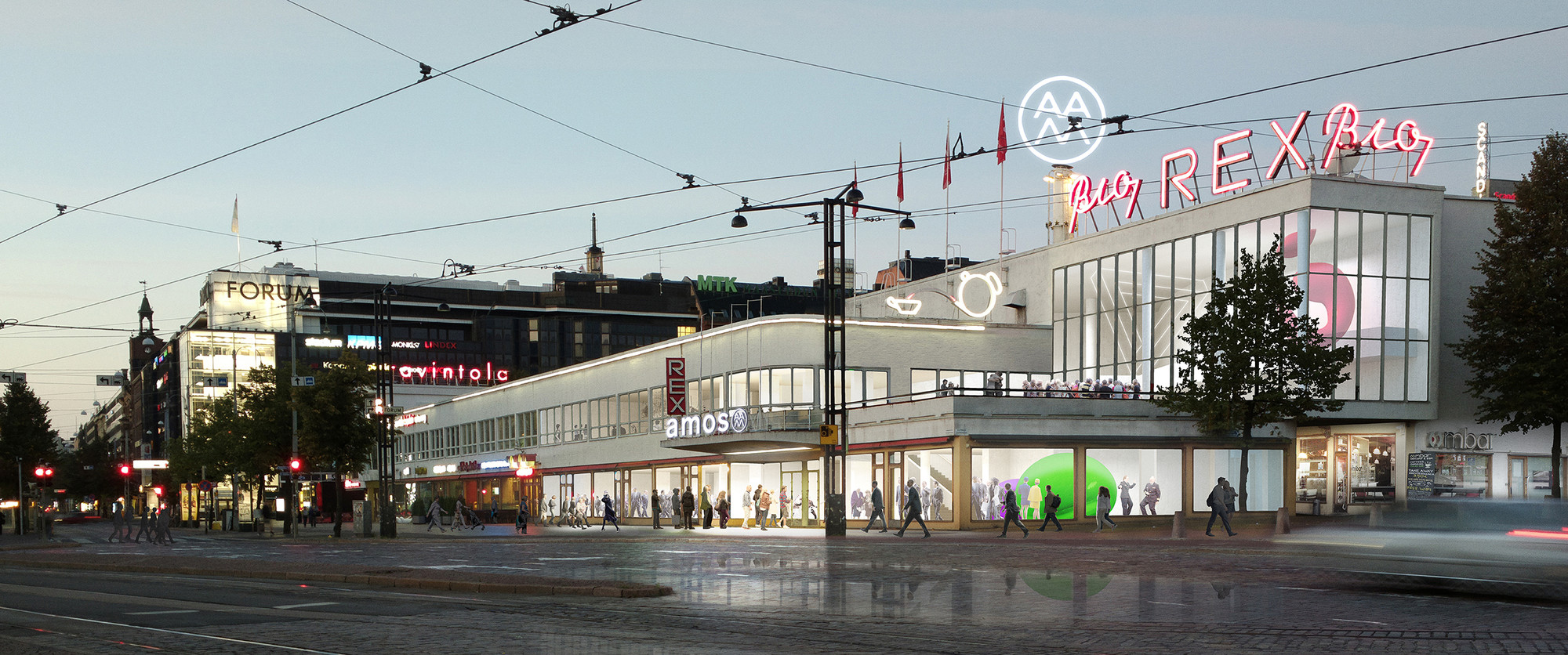 JKMM's Helsinki Amos Anderson Art Museum to be Built Underground, © JKMM Architects