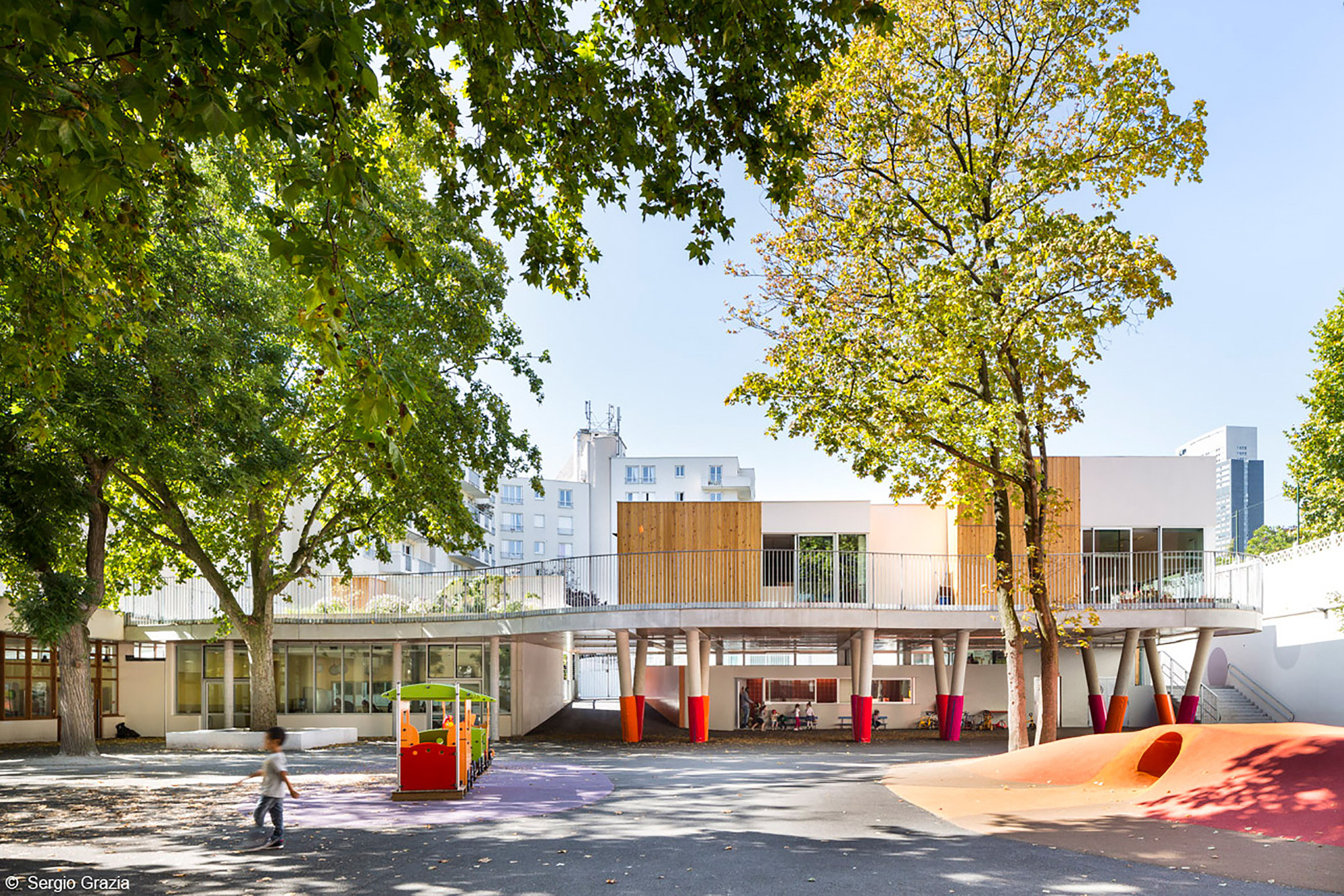 Escuela Sonia Delaunay / ADEN architectes, © Sergio Grazia