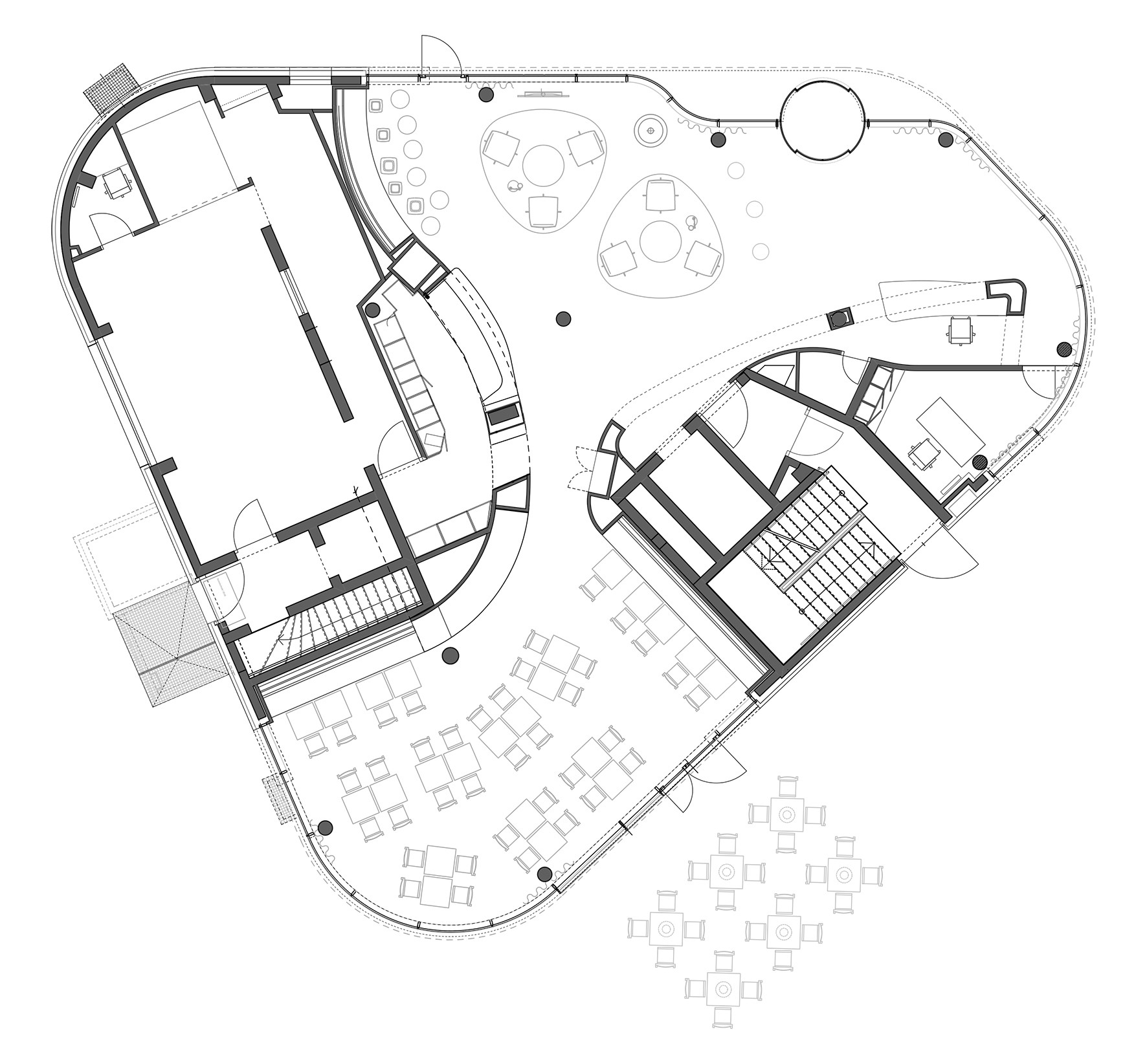 Gallery of izb residence stark architekten 27 for Tony stark house floor plan