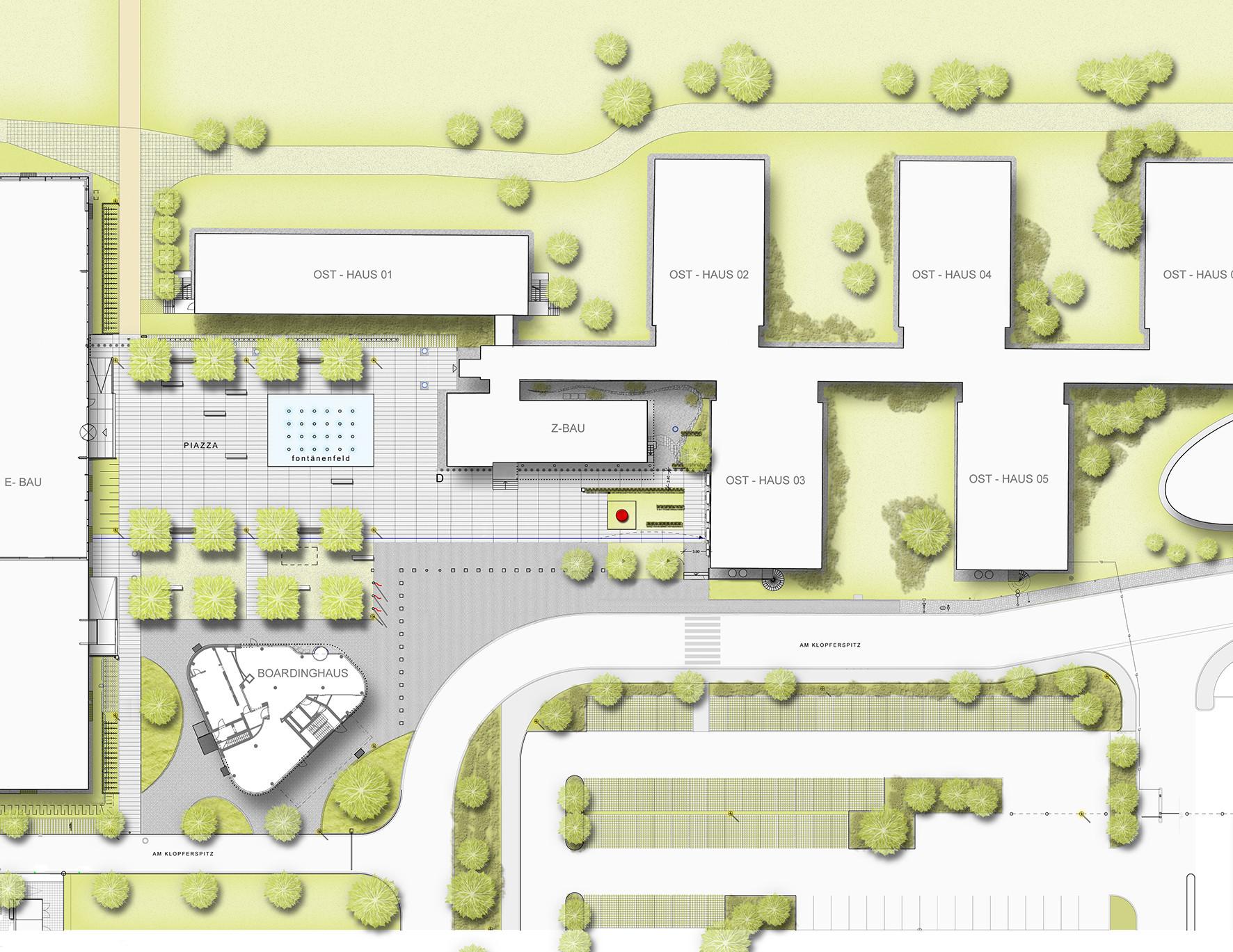 IZB Residence,Site Plan