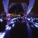Affinity Interactive Art Installation - BCP Building / Claudia Paz. Cortesia de LAMP Lighting