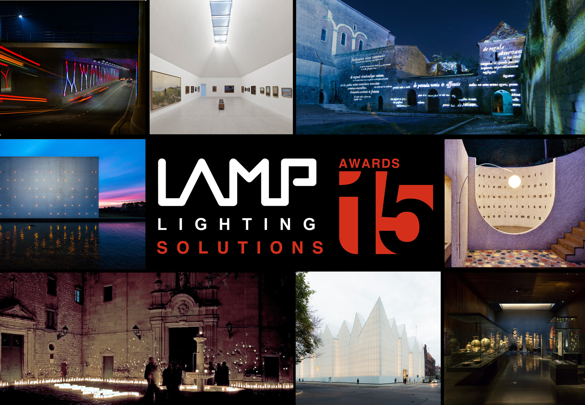 21 finalistas do 2015 LAMP Lighting Solutions Awards , Cortesia de LAMP Lighting