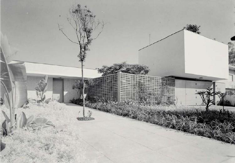 Clássicos da Arquitetura: Residência Castor Delgado Perez / Rino Levi, © Acervo Digital Rino Levi FAU PUC Campinas