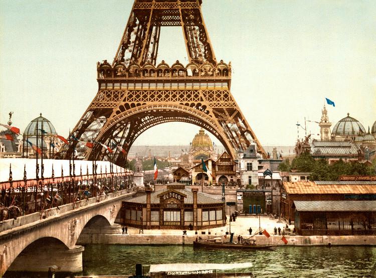 Um laboratório de arquitetura: a história das exposições mundiais, Exposição Universal de 1889. Image © wikimedia commons