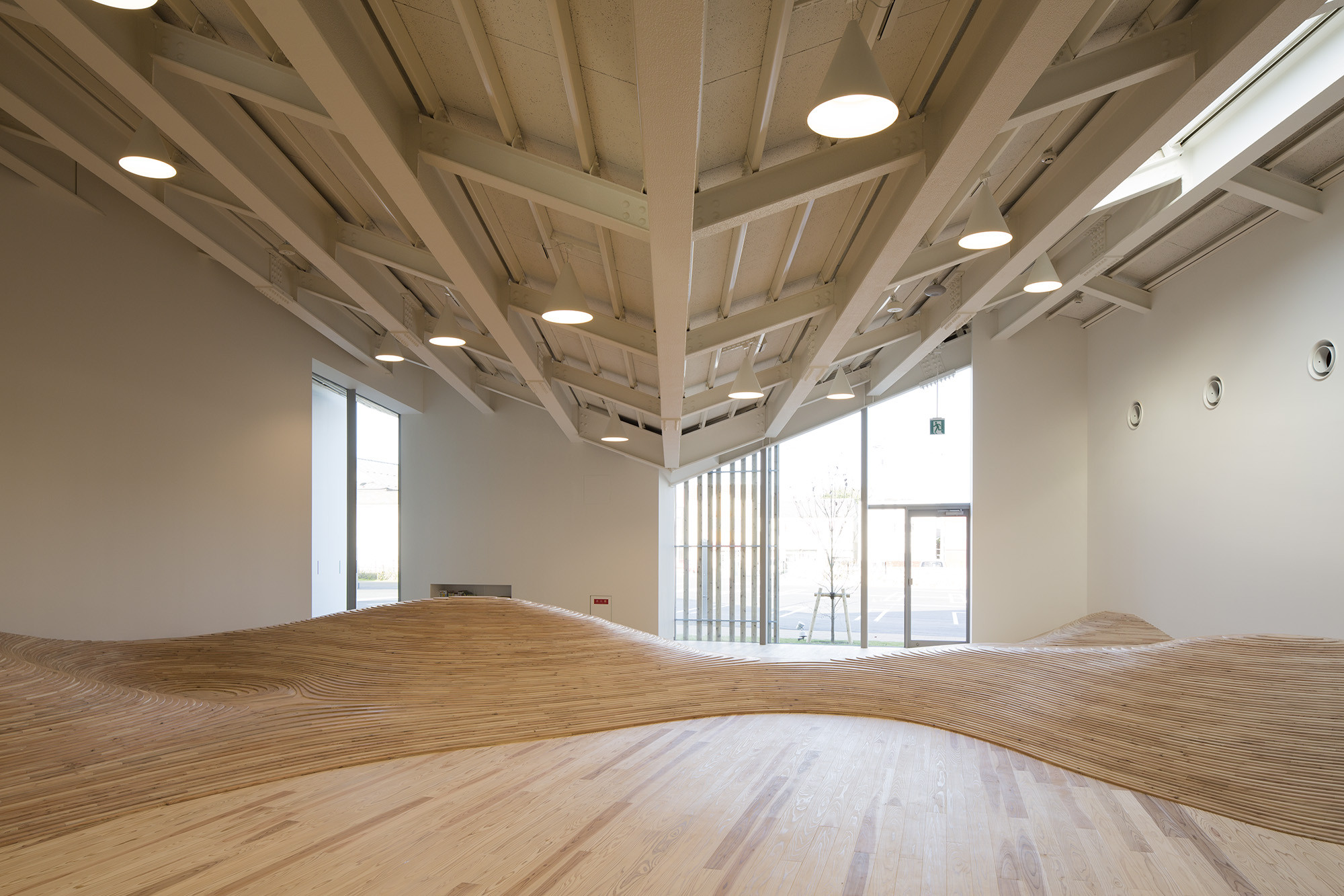 Gallery Of Towada Community Plaza Kengo Kuma