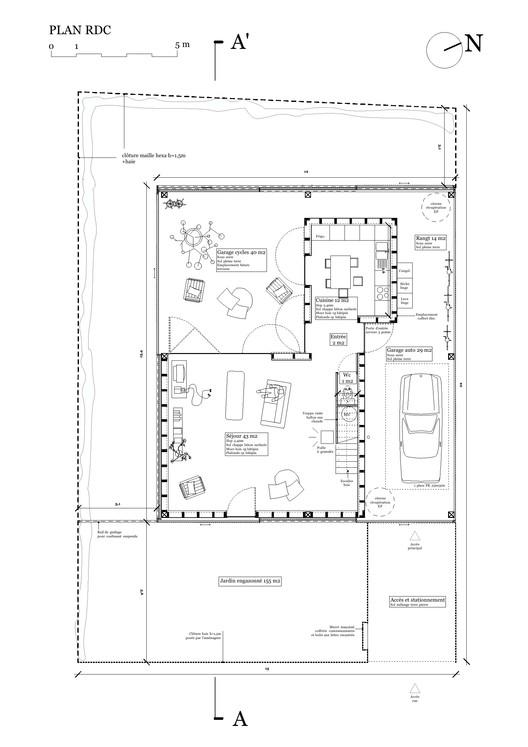 Casa d fouquet architecture urbanisme archdaily m xico for Garage mano coueron