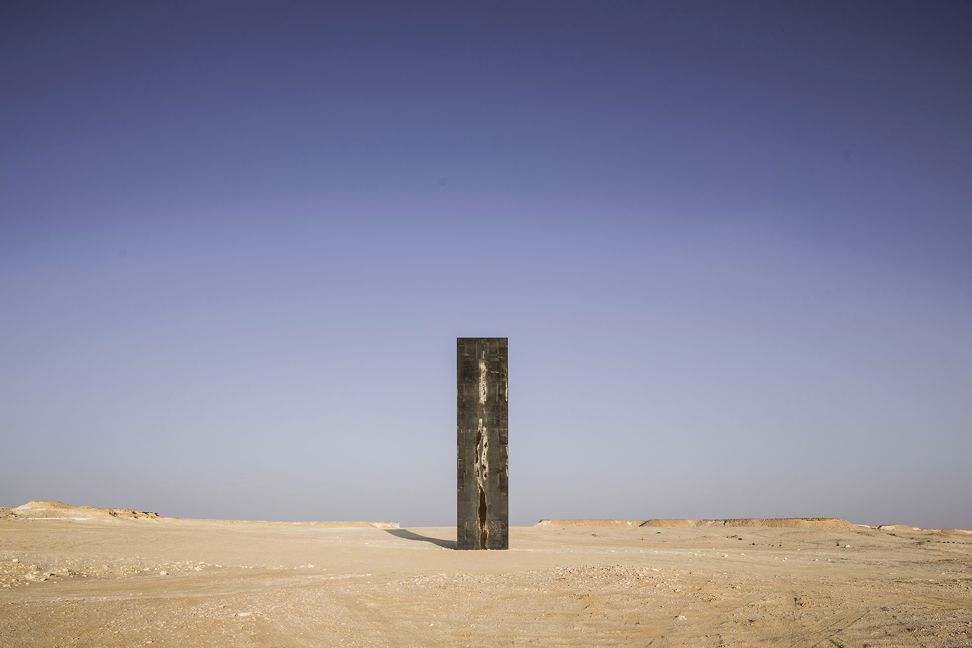 Gallery Of Richard Serra S East West West East Rises In