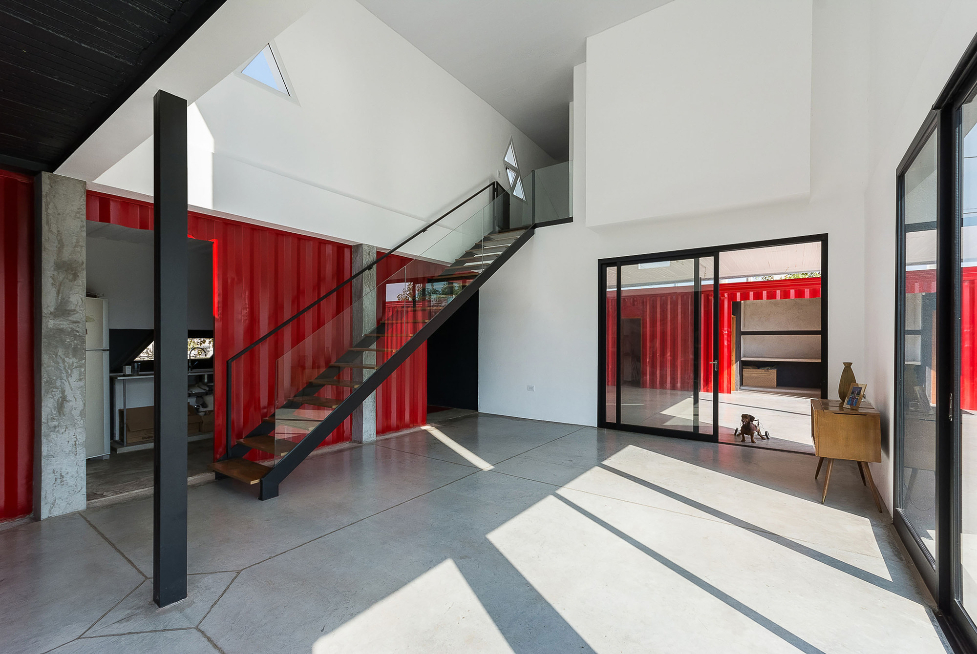 Gallery of container house jos schreiber arquitecto 13 for Casa in container