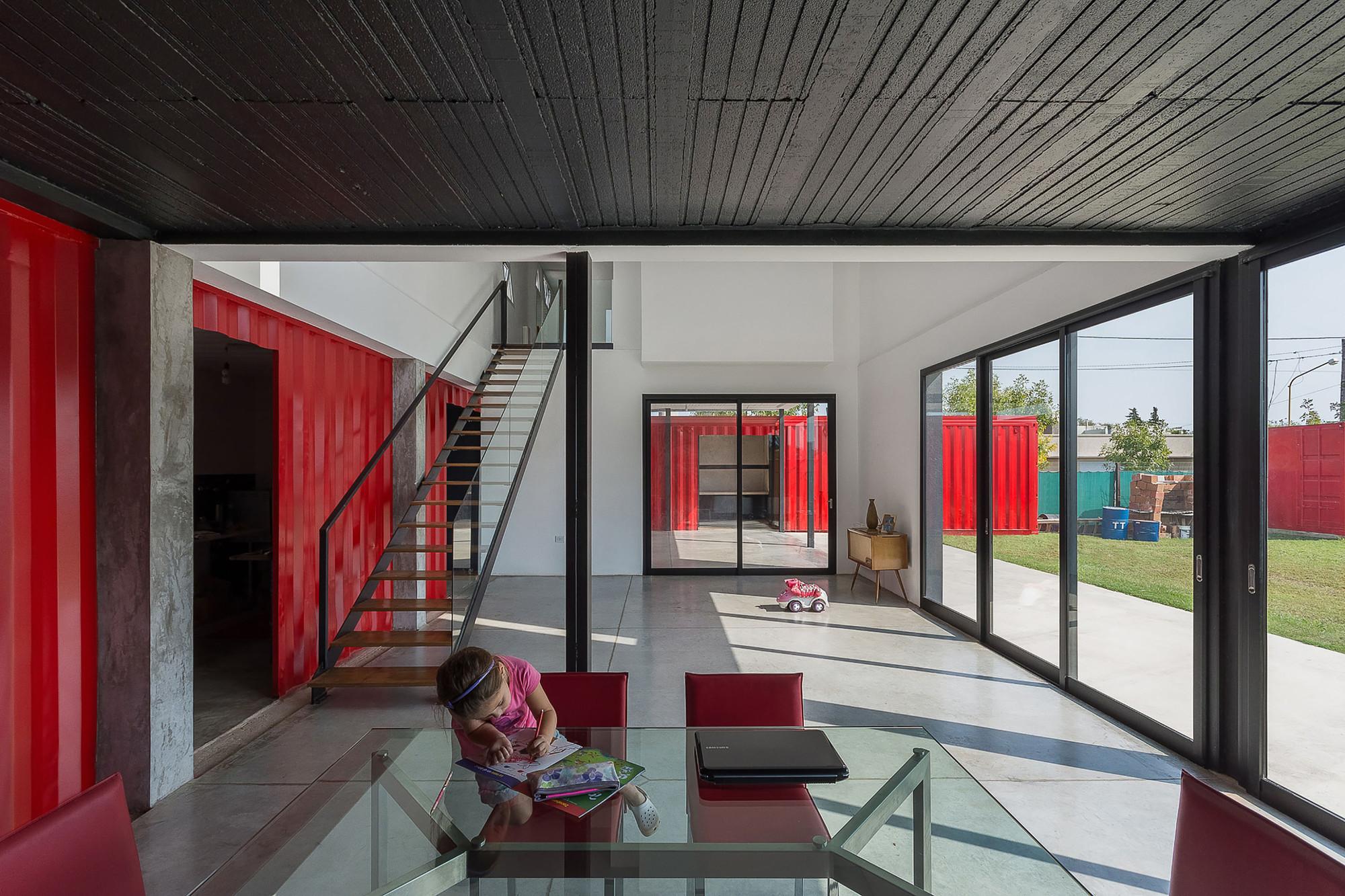 Casa container jos schreiber arquitecto archdaily brasil - Casa container espana ...