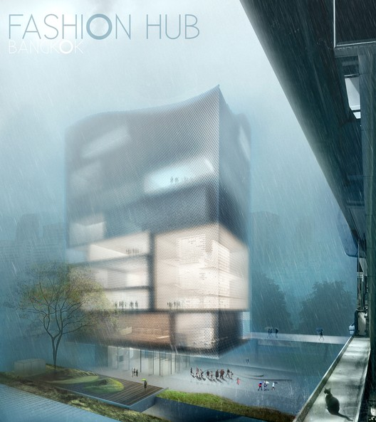 3 Winners Announced for Bangkok Fashion Hub Competition , 1st Prize: Ilya Pugachenko, Andrey Sayko, and Alla Aniskova. Image Courtesy of HMMD