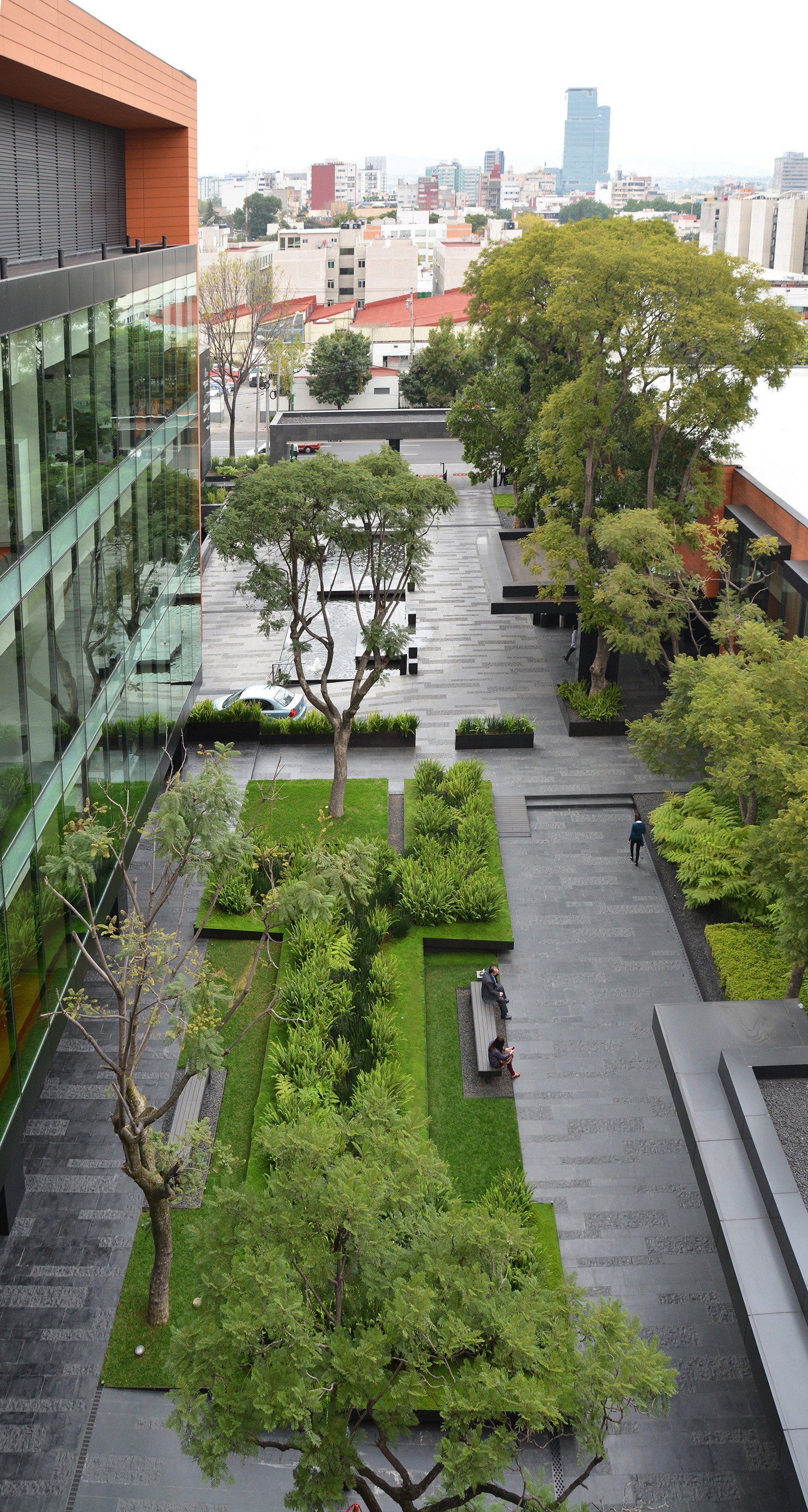 Galeria de paisagismo no campus corporativo coyoac n dlc for Garden design history