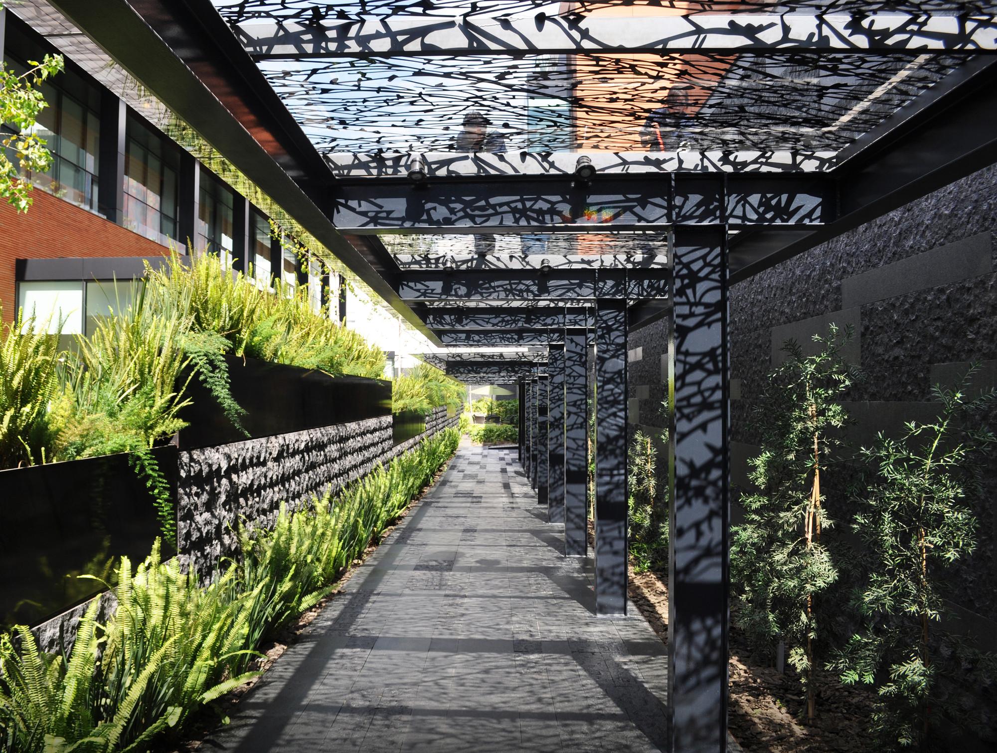 Arquitectura de paisaje campus corporativo coyoac n dlc Arquitectura del paisaje
