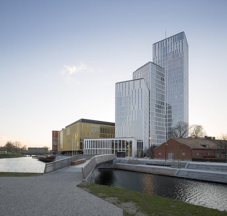 Centro Cultural e Sala de Concertos em Malmö / Schmidt Hammer Lassen Architects, © Adam Mørk