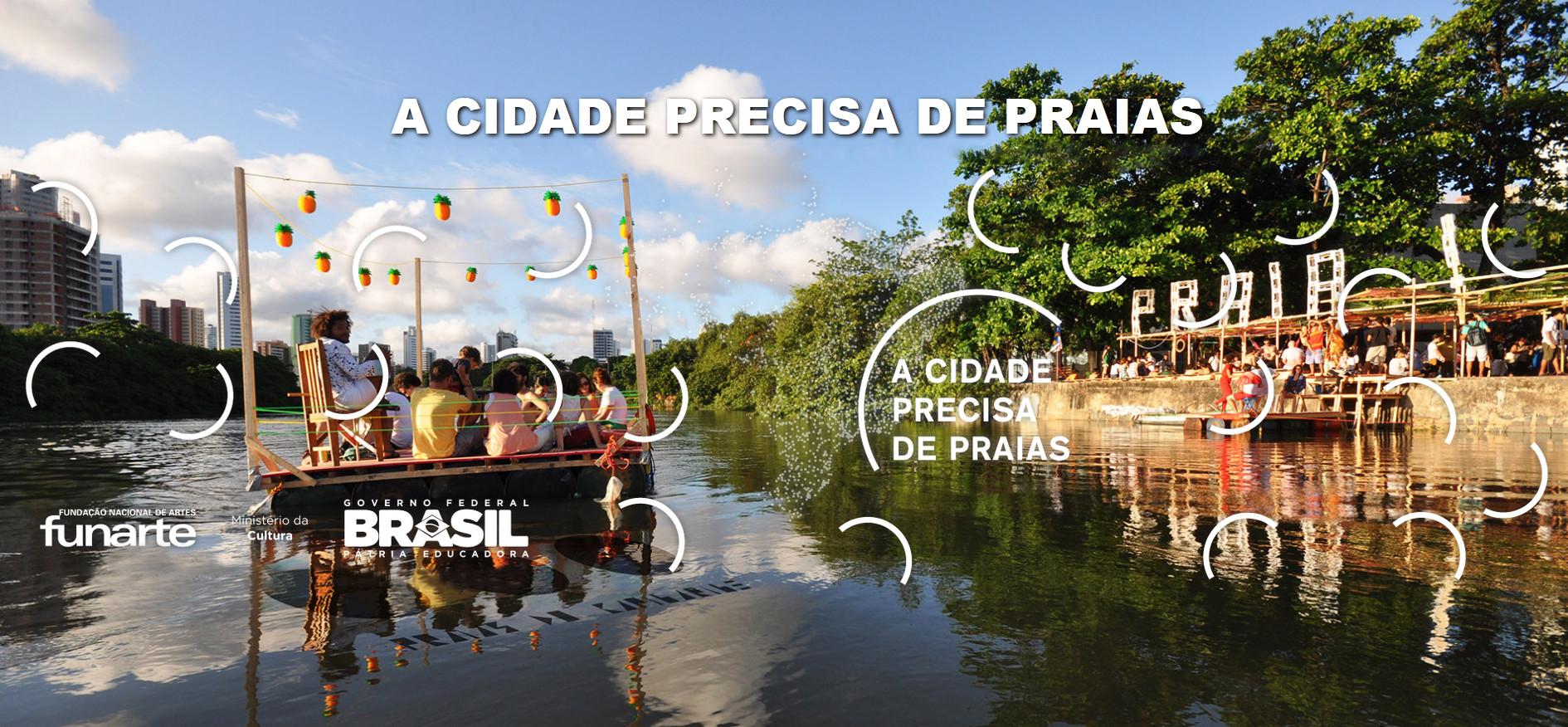 """""""A Cidade Precisa de Praias"""" promove encontro em Recife"""