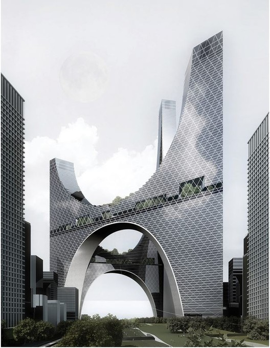 Evolo 39 s 20 most innovative skyscrapers archdaily for Architecture yin yang