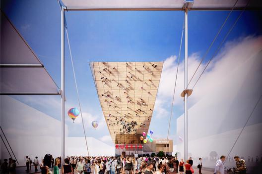 Archivo: Proyecto y realidad de los Pabellones de la Expo Milán 2015, Cortesía de Eventica Communications