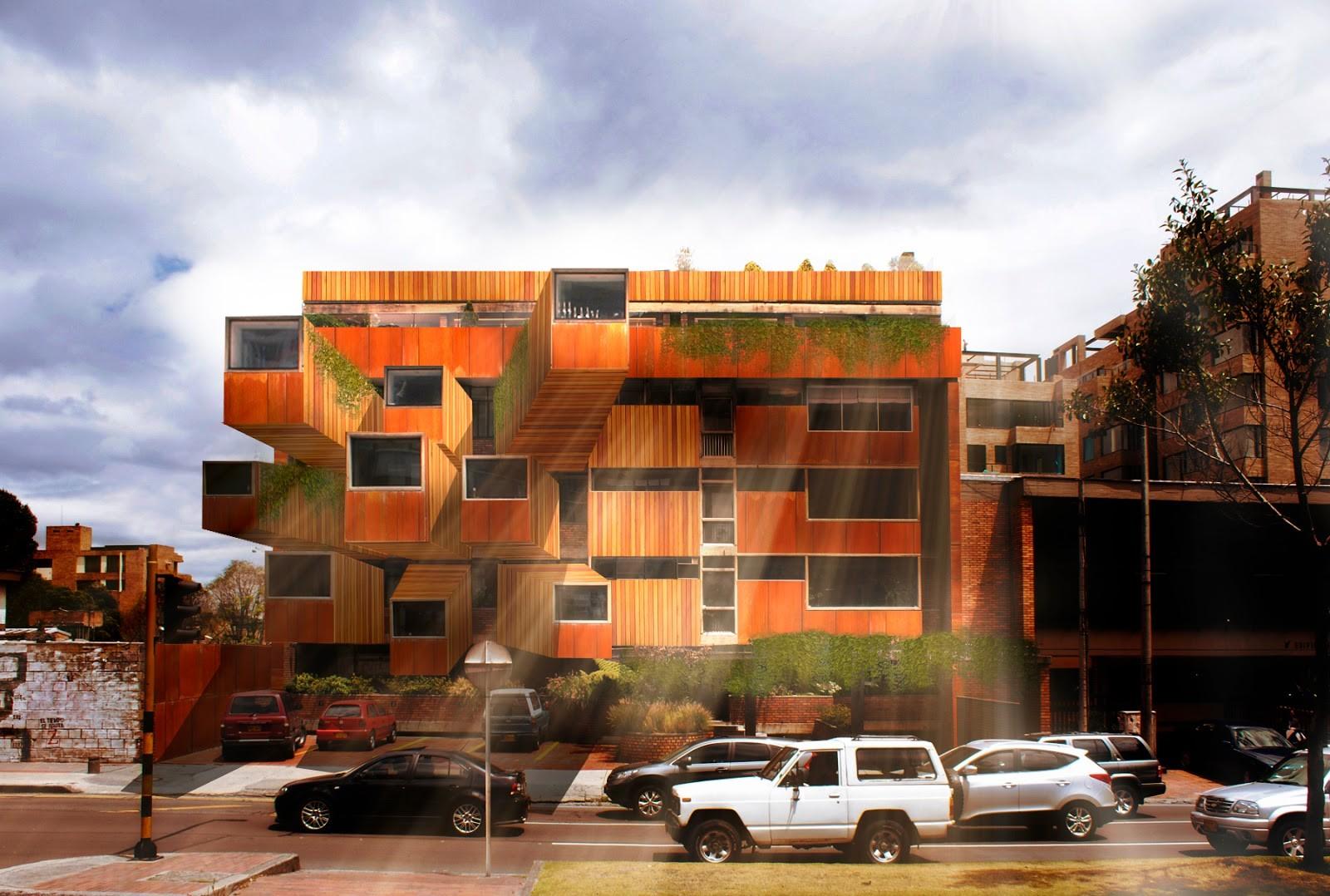 Ganadores del Desafío #EnchulaTuClásico, Propuesta de Iván Dario Sánchez: Edificio Giraldo / Fernando Martínez Sanabria
