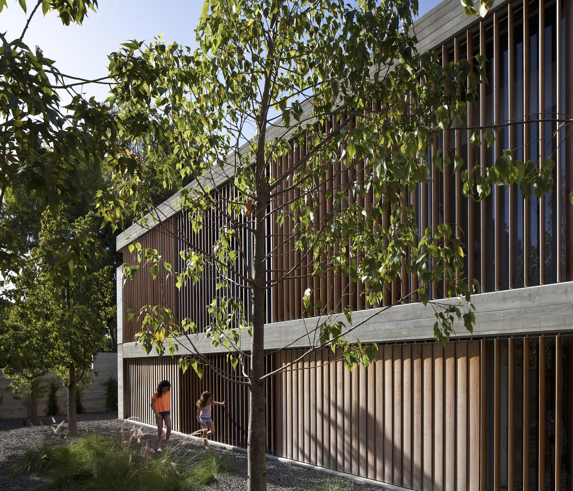 Casa para un Arquitecto  / Pitsou Kedem Architects, © Amit Geron